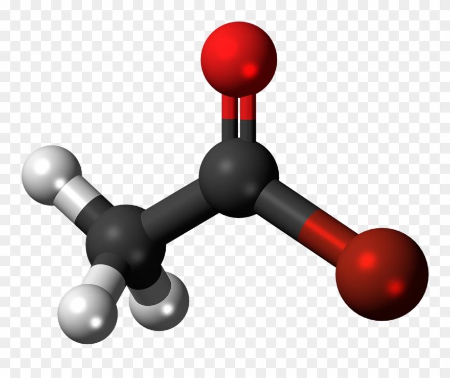 Volatile Organic Compounds Molecule Clipart (#3697940.