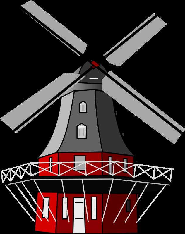 Windmill Clip Art Download.