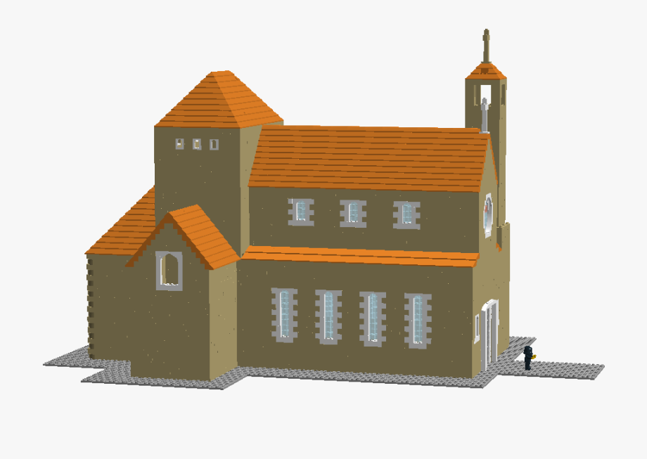 Church Clipart Monastery.