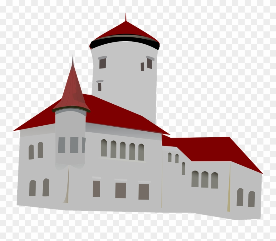 House Monastery Church Clip Art.