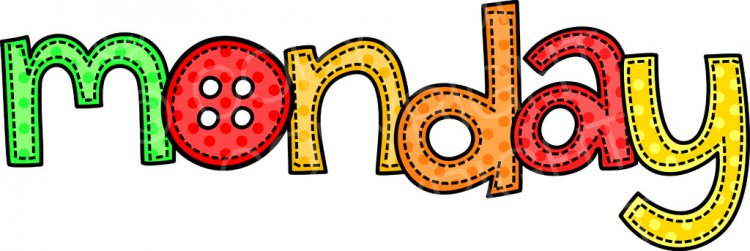 Monday clipart, Monday Transparent FREE for download on.