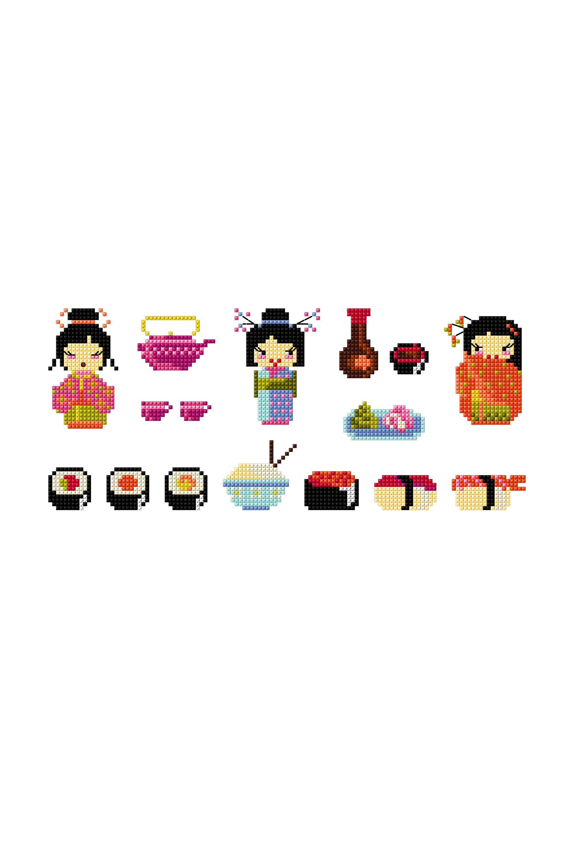 Les jeunes filles aux sushis.