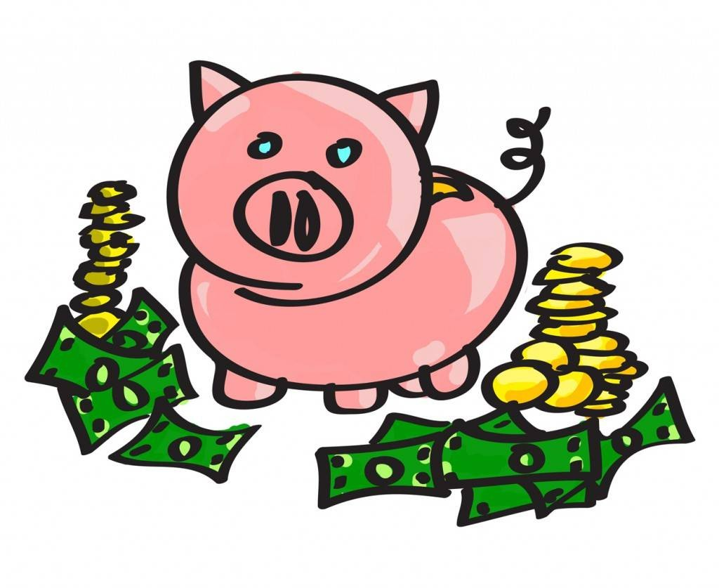 12898 Money free clipart.