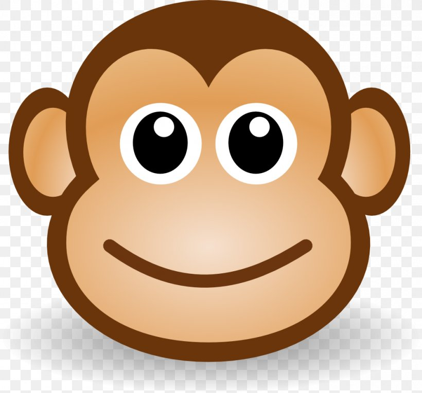 Monkey Cartoon Clip Art, PNG, 999x933px, Primate, Baby.