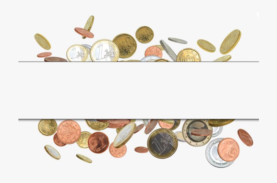Money Coin Border Finance Gold Free Transparent Image.