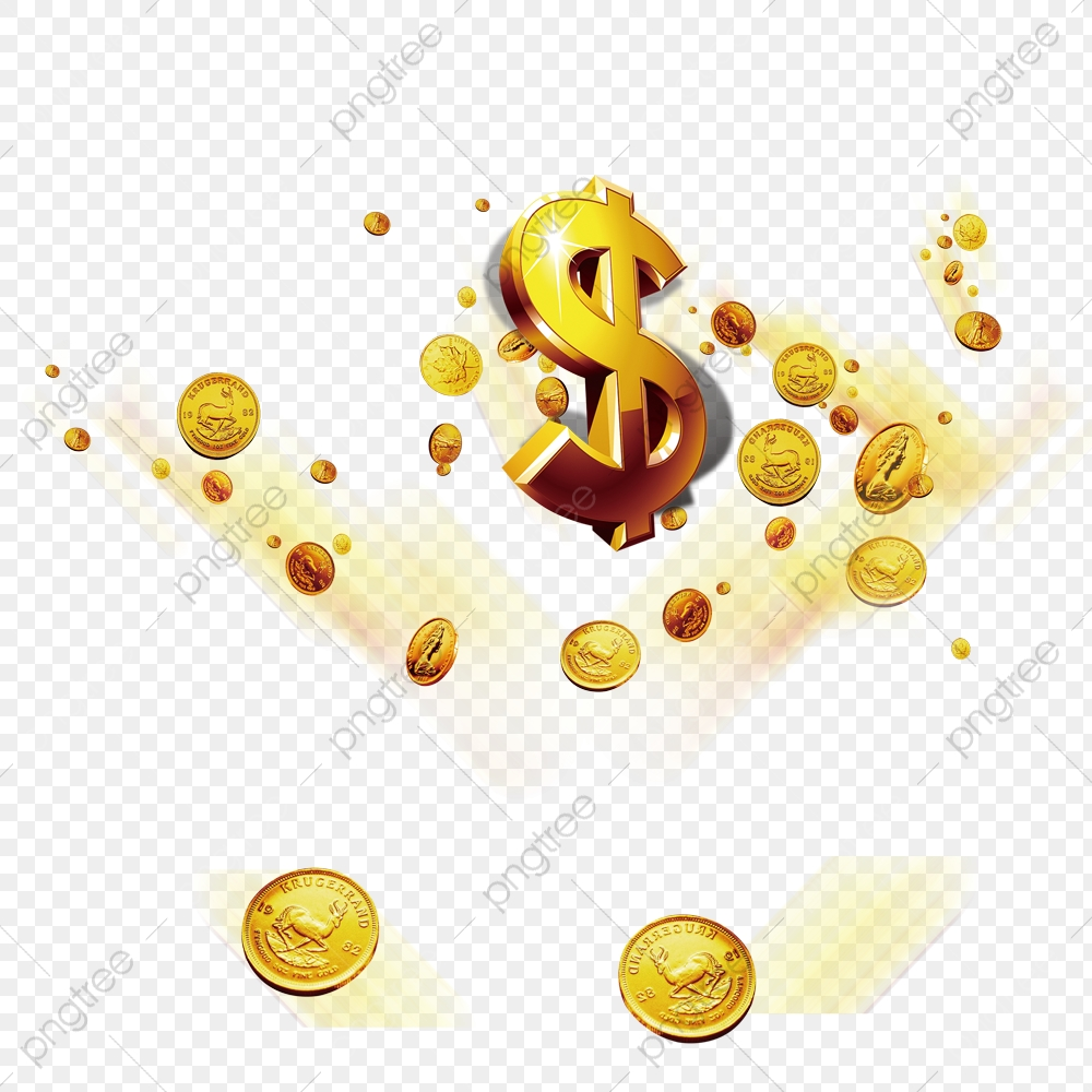Money Coins, Money Clipart, Money, Gold PNG Transparent Image and.