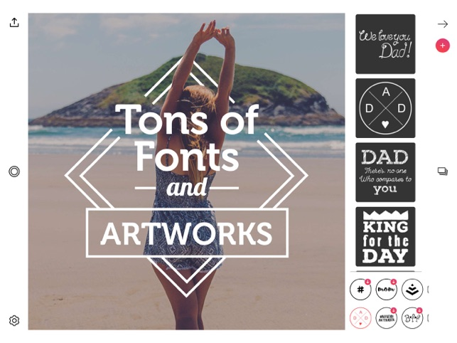 Font Candy Photo & Text Editor on the App Store.