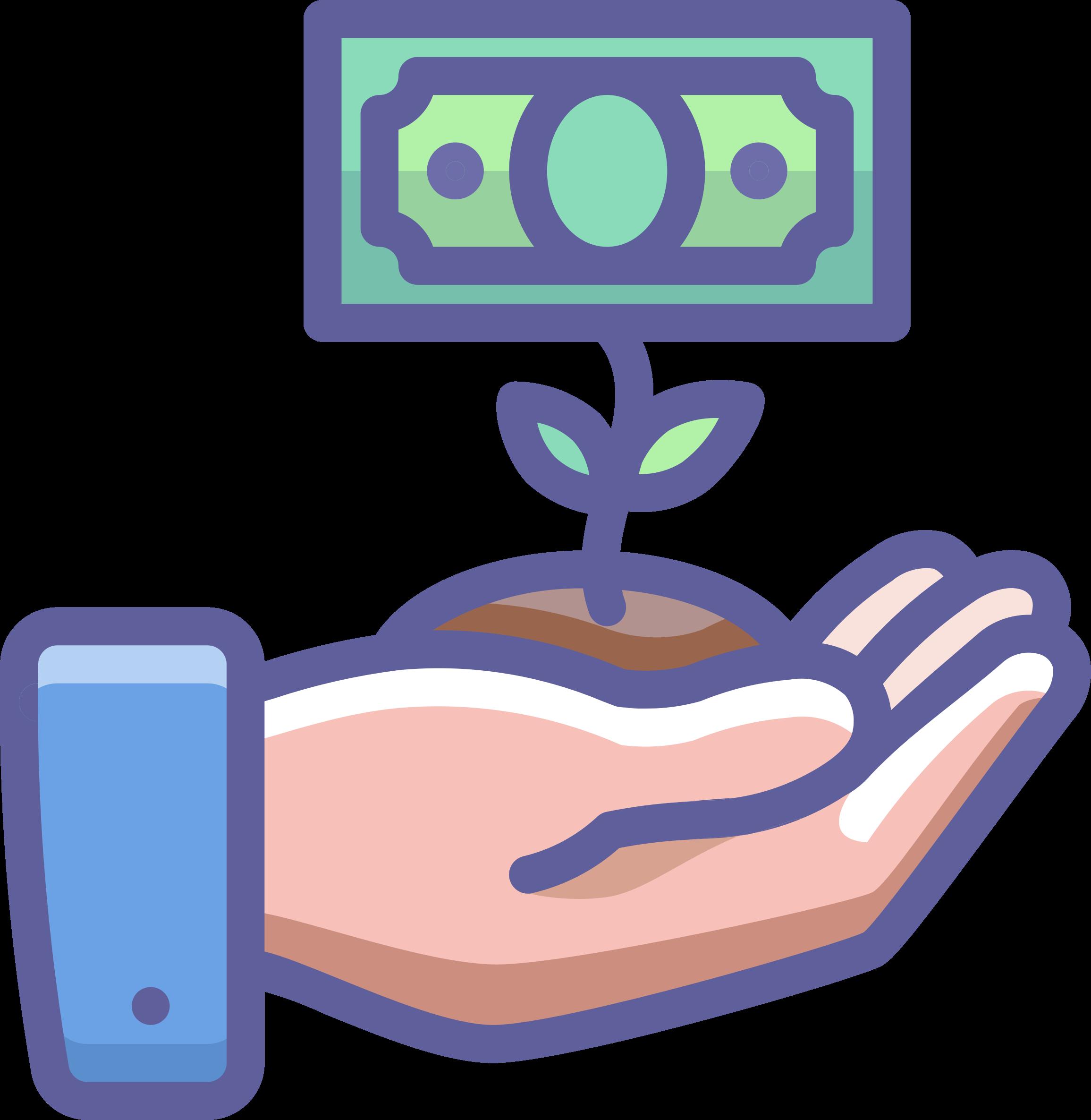Purple clipart money, Purple money Transparent FREE for.