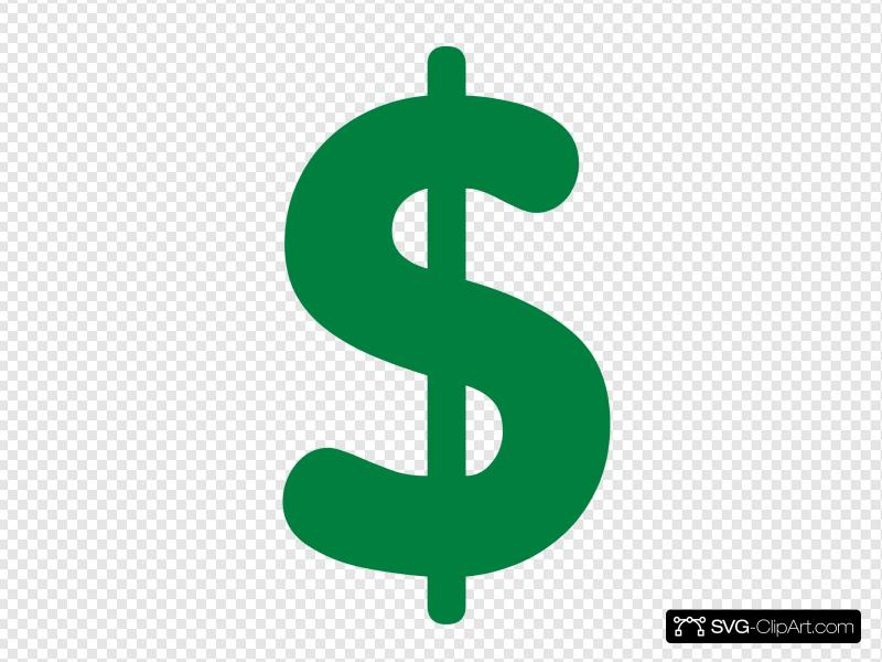Money Sign Clip art, Icon and SVG.