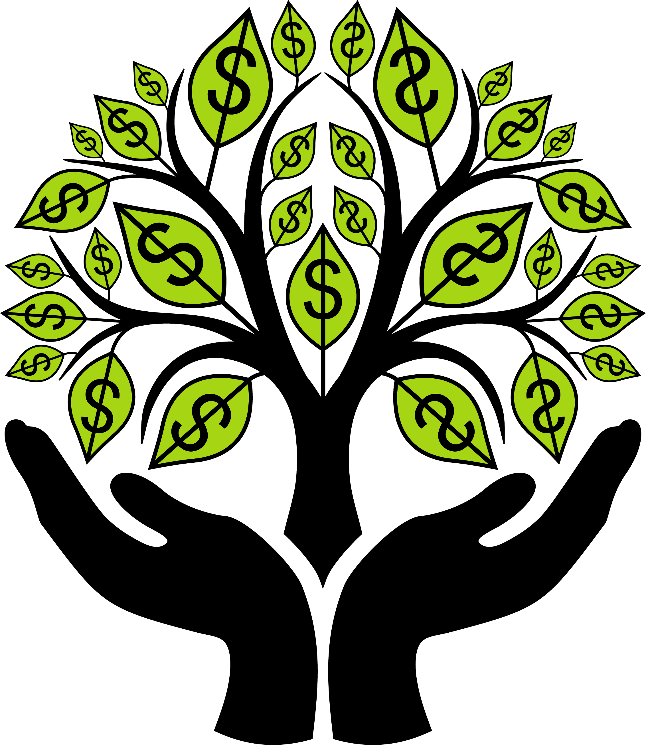 Money Tree Clipart.