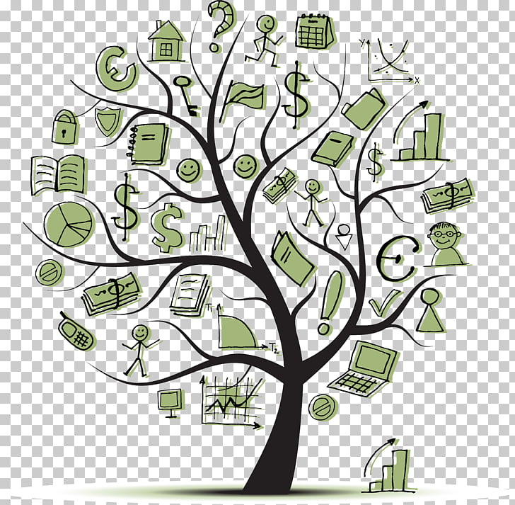 Financial literacy Personal finance Investment, money tree.