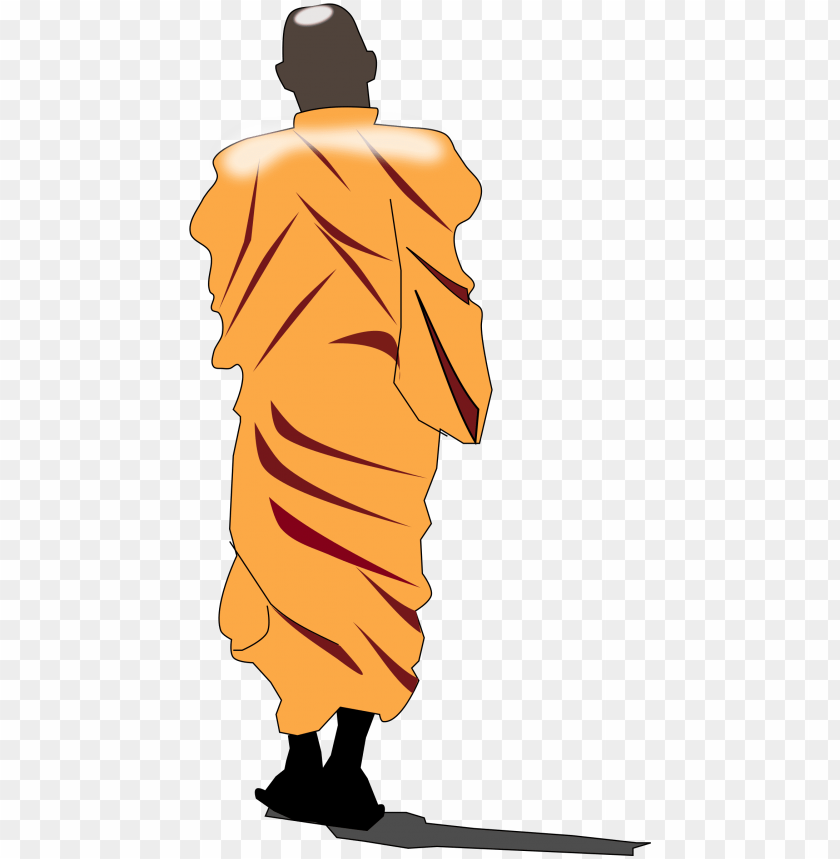 robes drawing monk.