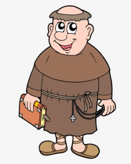 Free Monk Clip Art with No Background.