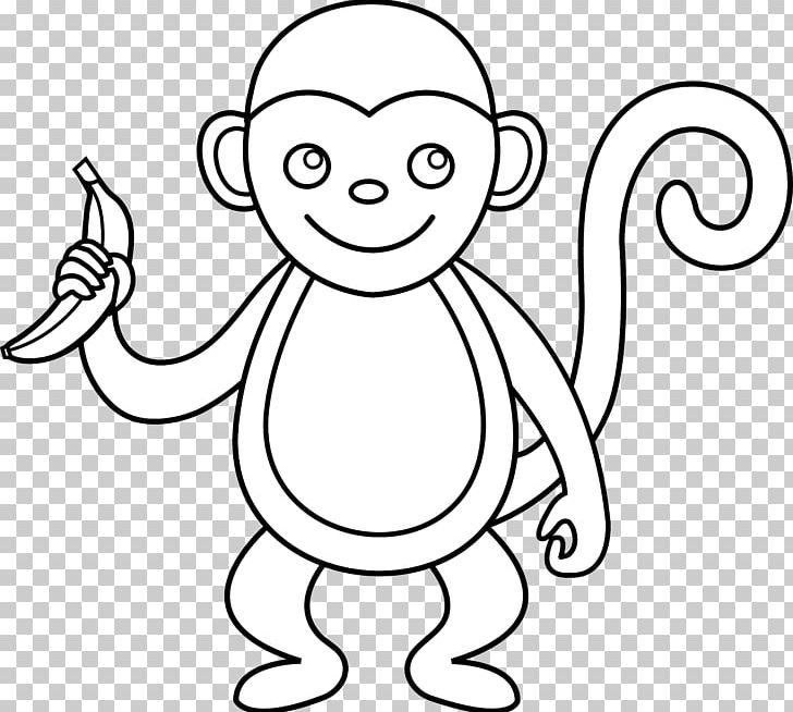 Spider Monkey Black And White PNG, Clipart, Blackandwhite.