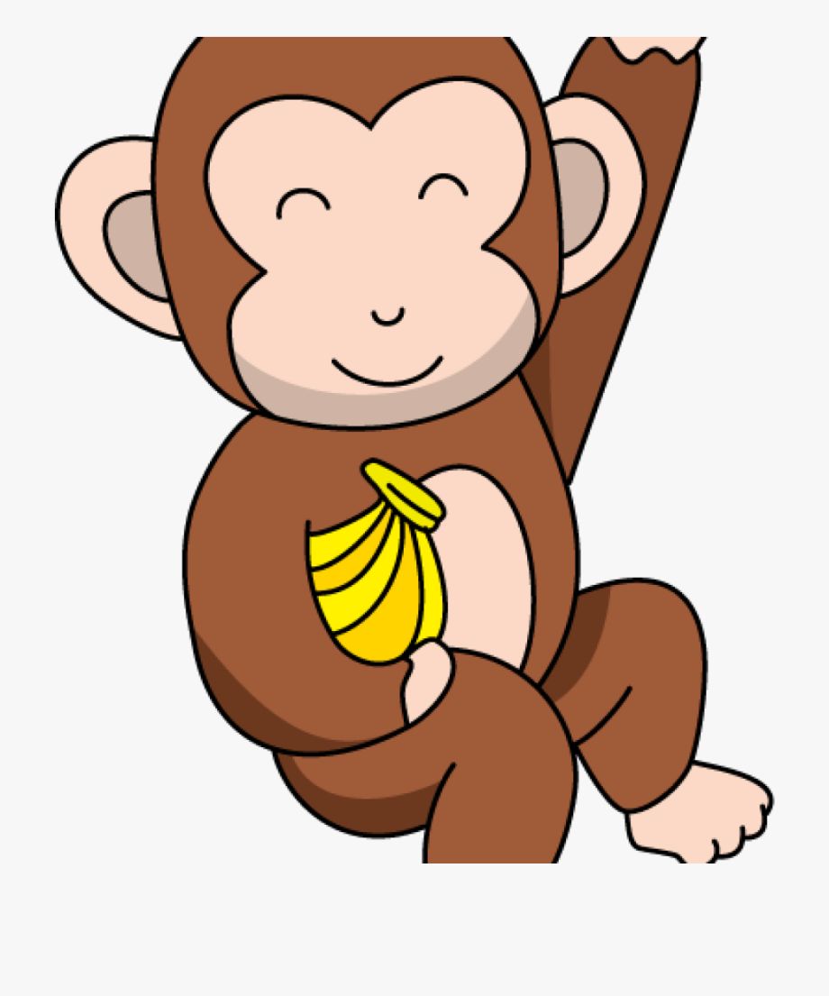 Cute Monkey Clipart Funny Monkey Clipart.