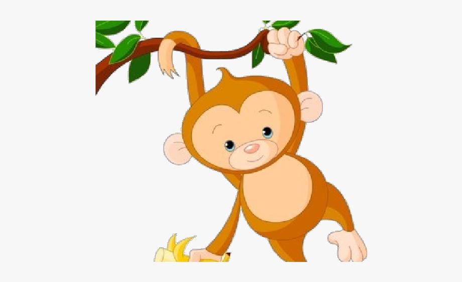 Monkey Clipart Transparent Background.