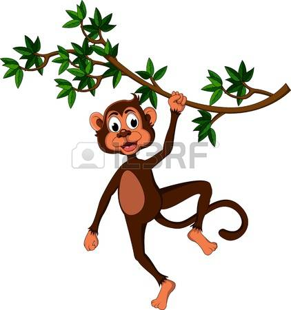 312 Swinging Monkey Stock Illustrations, Cliparts And Royalty Free.
