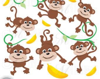 Monkeys clipart, Monkeys Transparent FREE for download on.