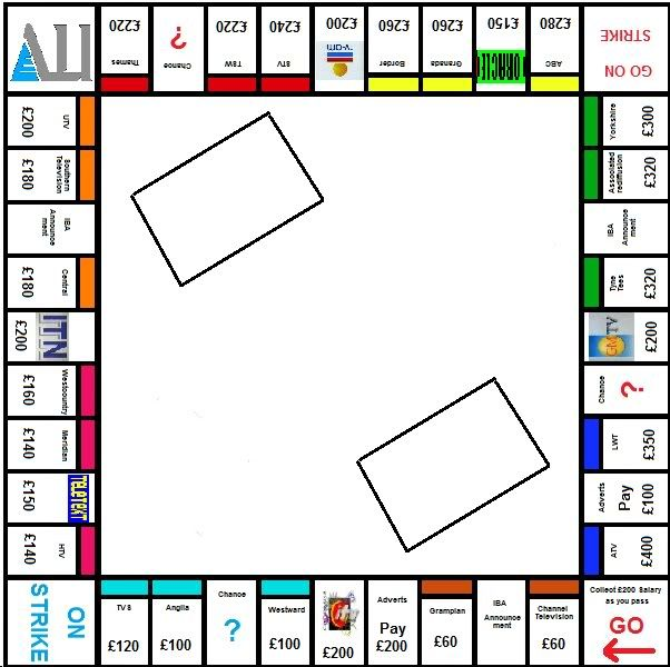 monopoly game powerpoint template monopoly board game.