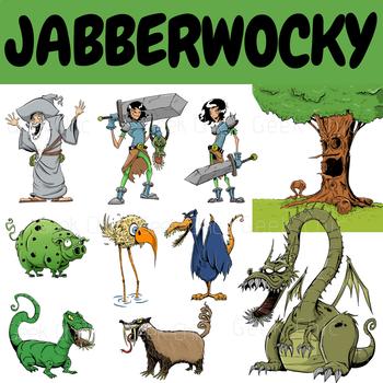 Jabberwocky Clipart.