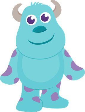 Sulley Monsters Inc Clipart.