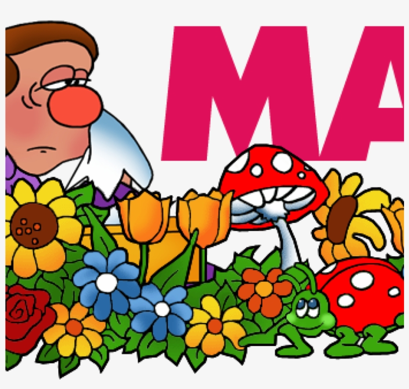 Free Clip Art For Month Of May.