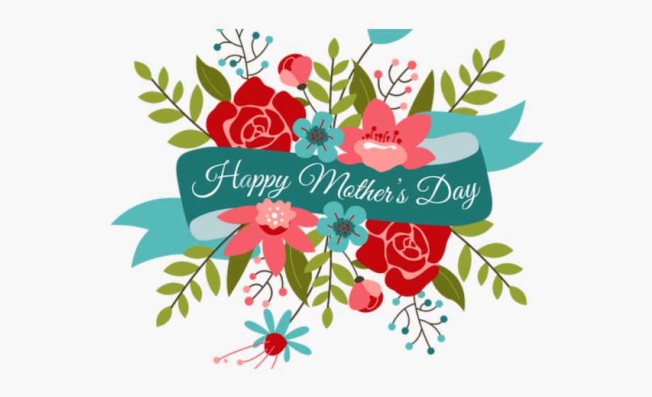 Mother`s Day Clipart Month May.