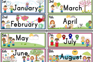 Months of the year clipart » Clipart Station.