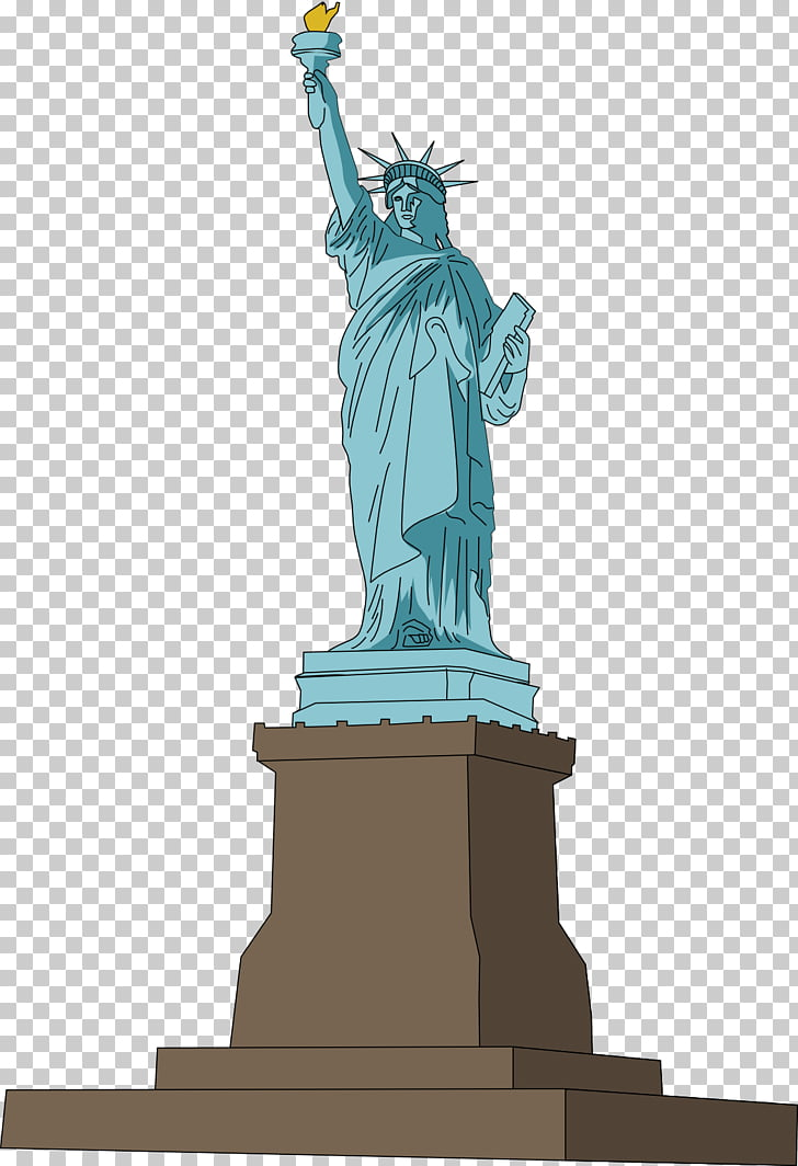 Statue of Liberty Paris , statue PNG clipart.