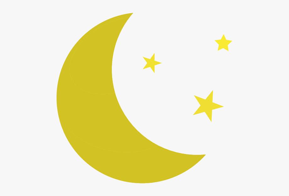 Moon Clipart Stars.