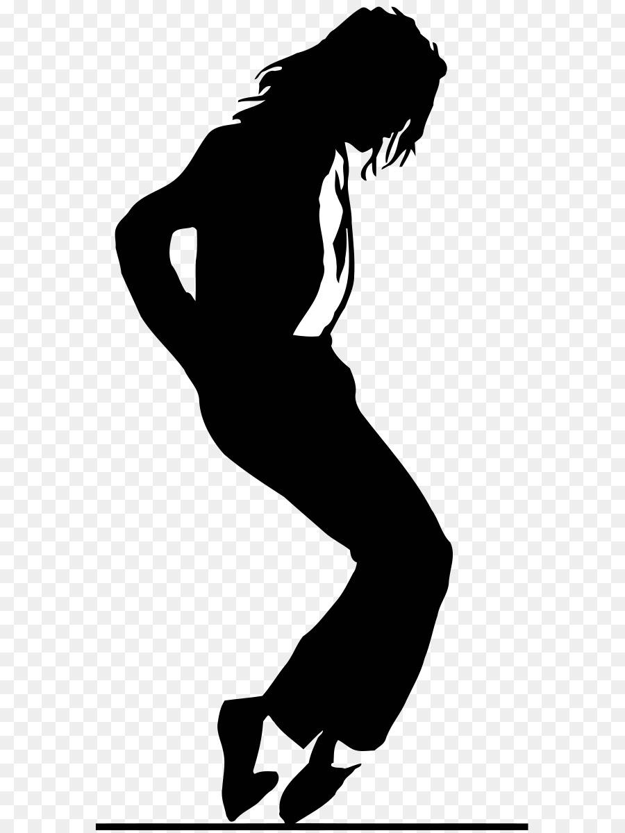 Michael Jackson Moonwalk clipart.