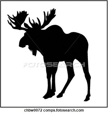 Moose Tracks Clip Art.
