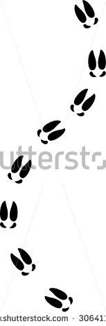 Showing post & media for Cartoon moose footprints.