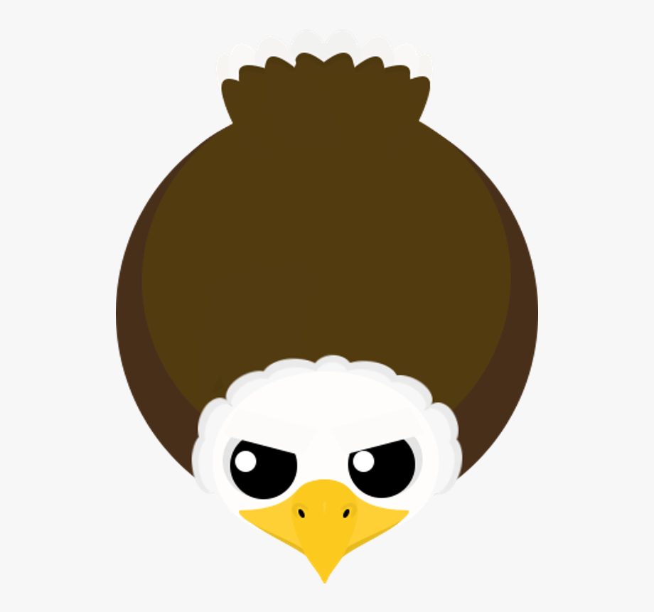 Mope Io Eagle Flying Gif Clipart , Png Download.