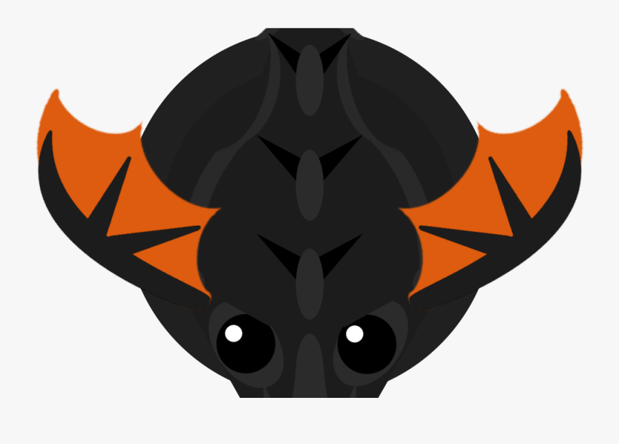 Mope Io Black Dragon , Free Transparent Clipart.