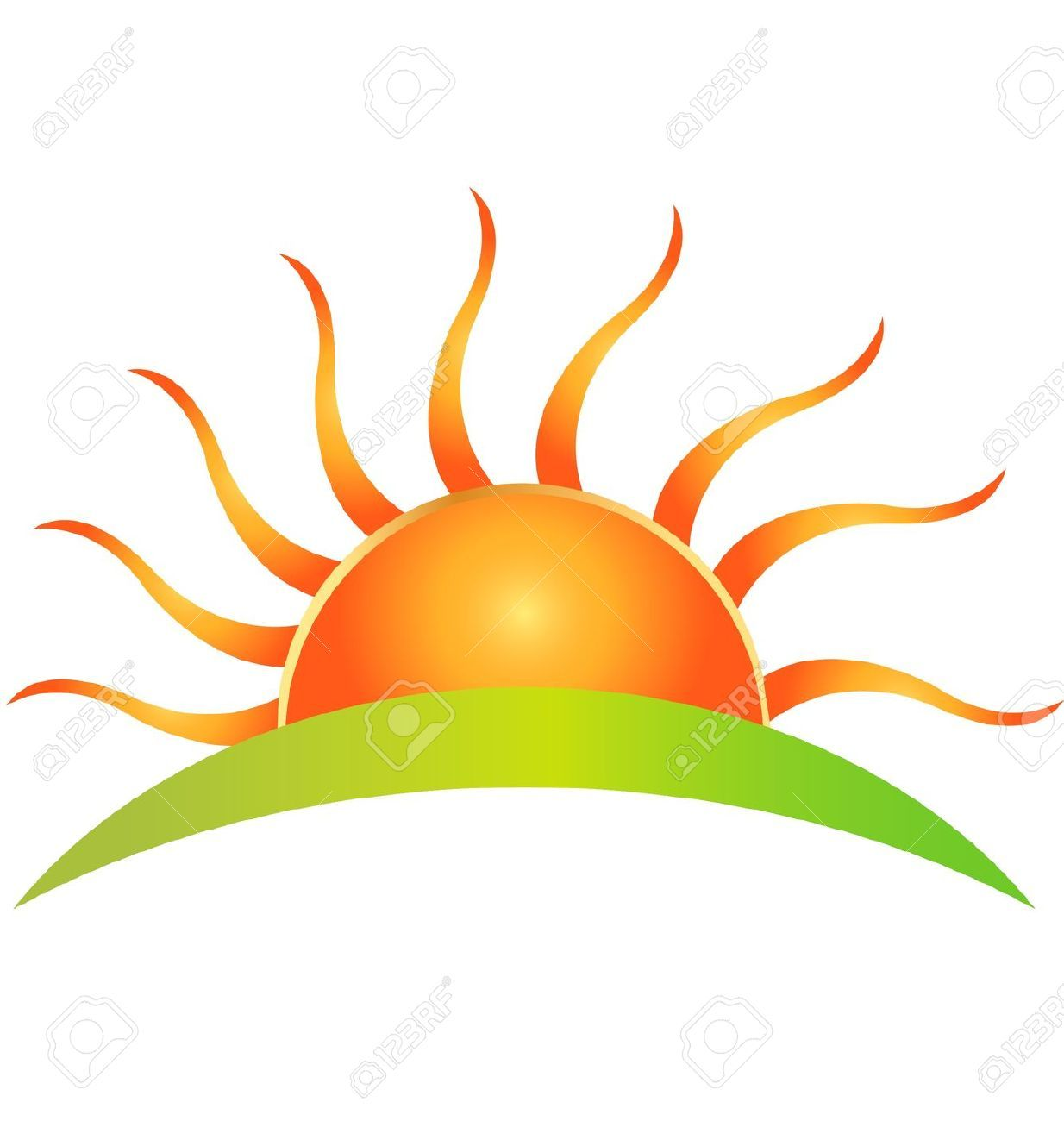 1234x1300 Morning clipart rising sun.