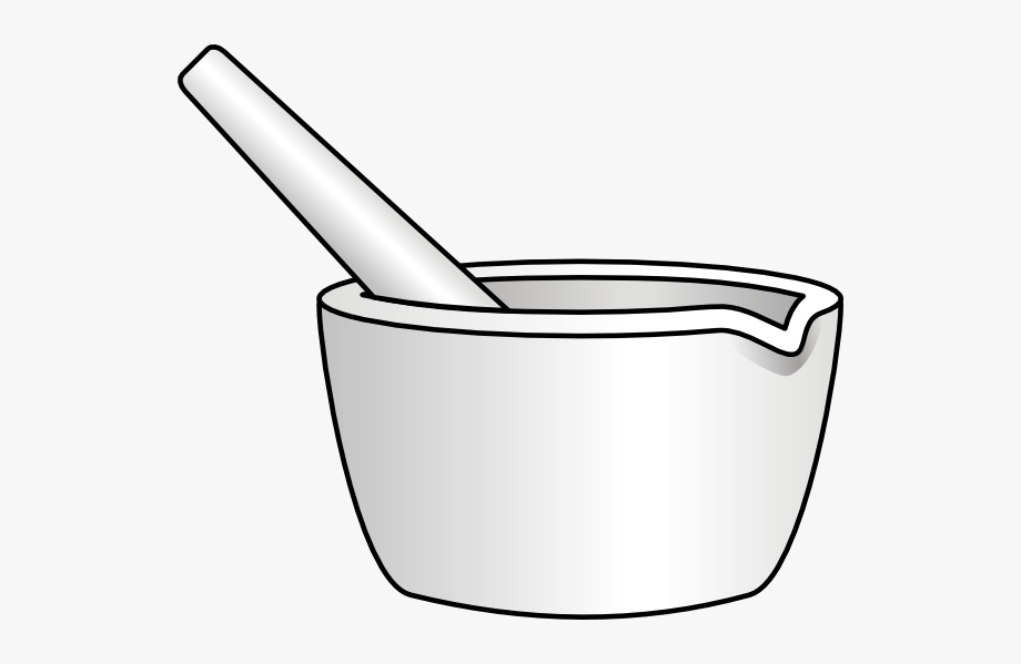 Olagosta Mortar With Pestle Clip Art.