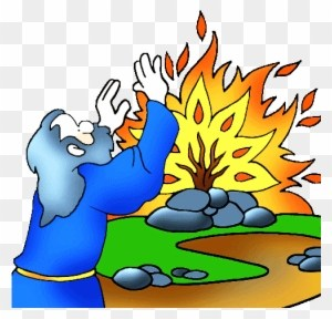 Clipart moses and the burning bush 4 » Clipart Portal.