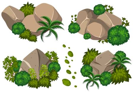 390 Moss Rock Cliparts, Stock Vector And Royalty Free Moss Rock.
