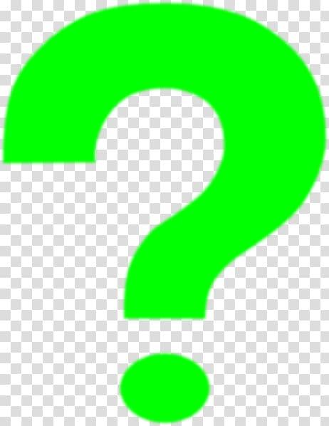 Car Question mark RDW MOT test , green interrogation.