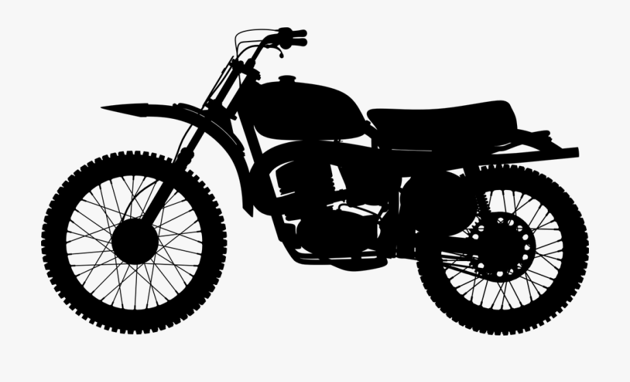 Red Motorcycle Clipart.