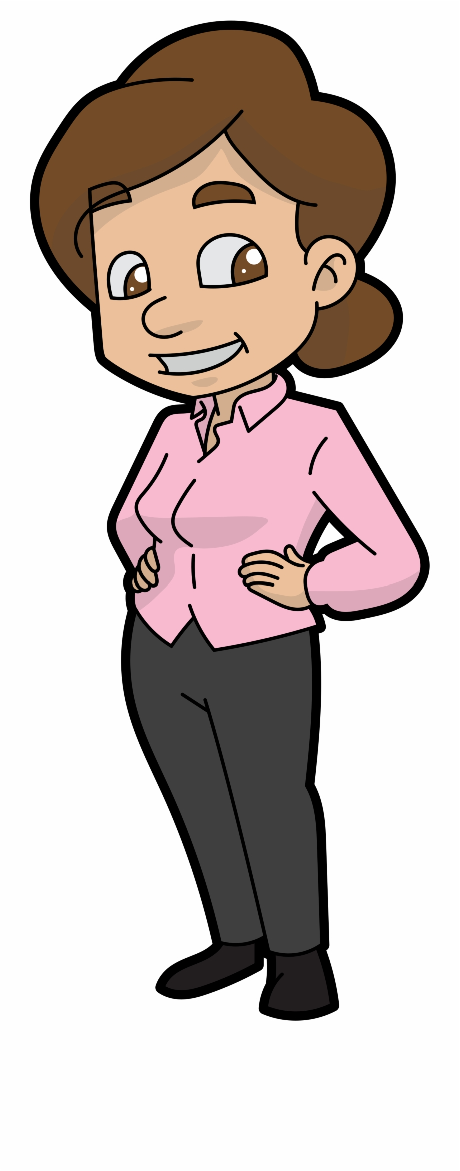 Cartoon Mom Png.
