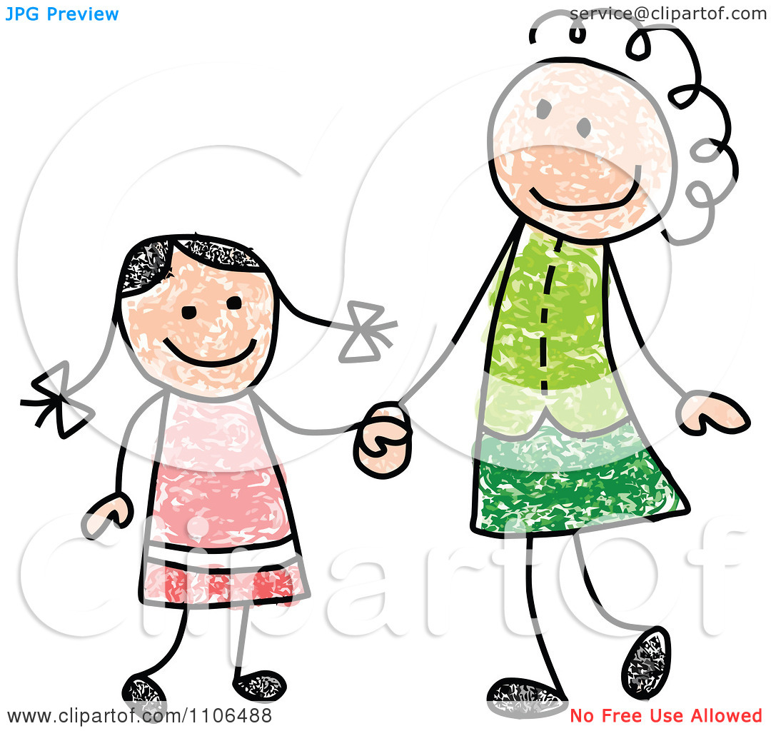 clipart mother and child holding hands 20 free Cliparts ...