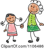 Showing post & media for Cartoon mom holding hands.