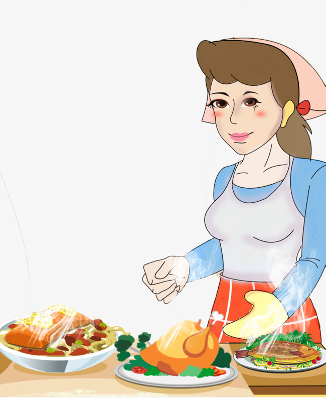 Mother Cooking Png & Free Mother Cooking.png Transparent.