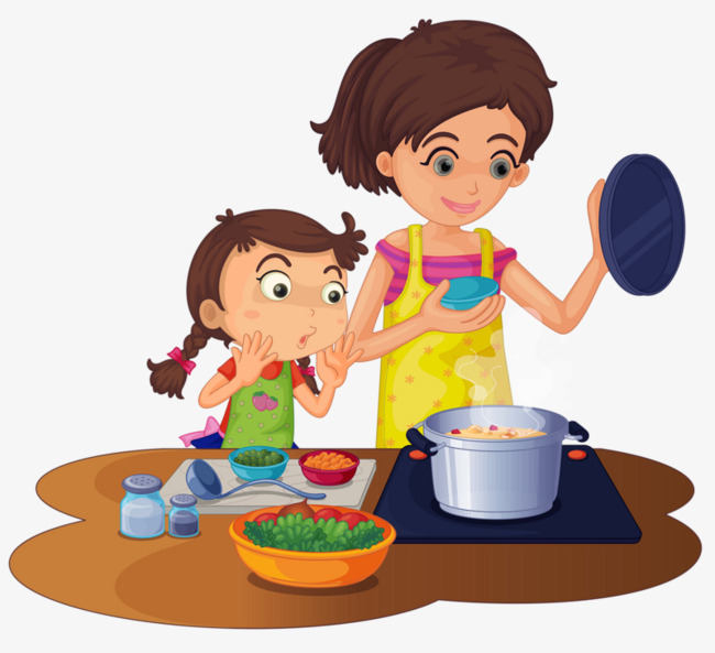 Mother Cooking Clipart Png.