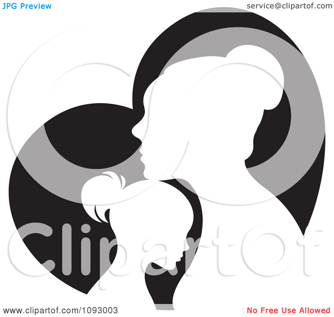 Free Mother Daughter Clipart.