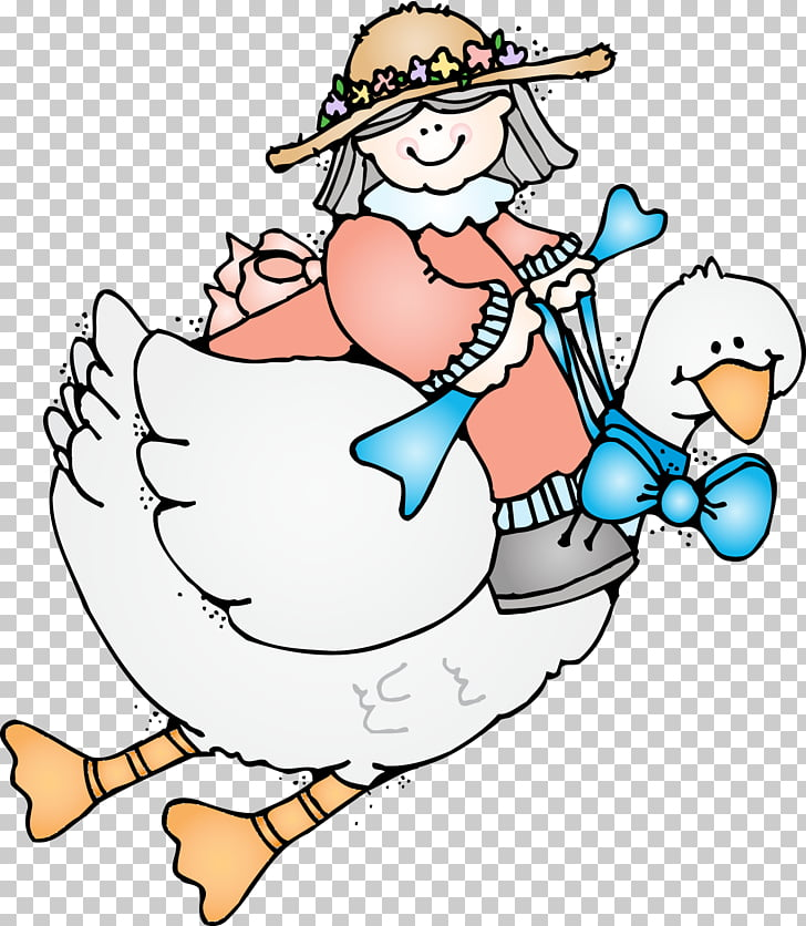Mother Goose Humpty Dumpty , goose PNG clipart.