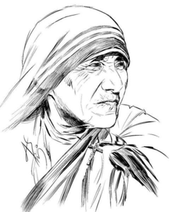 Mother Teresa Clipart.