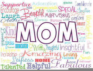 Happy Mothers Day Clipart Free.